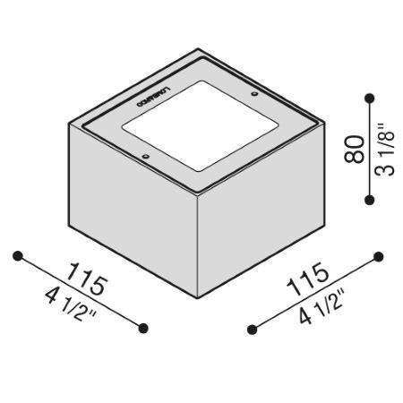 lombardo illuminazione prezzi lombardo trend up 110 grigio antracite led