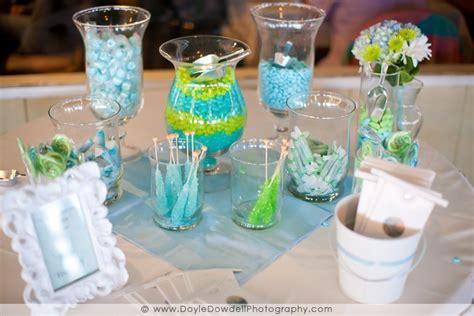 green buffet blue and green buffet wedding