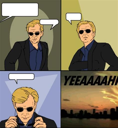Puts On Glasses Meme - was horatio caine s putting on sunglasses aka the