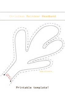 reindeer antlers template reindeer antlers template bestsellerbookdb