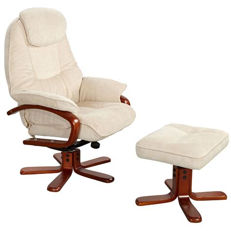 reclining chair and footstool gatcombe recliner and footstool