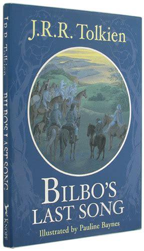 bilbos last song 0091884888 bilbo s last song j r r tolkien pauline baynes 9780375823732 amazon com books