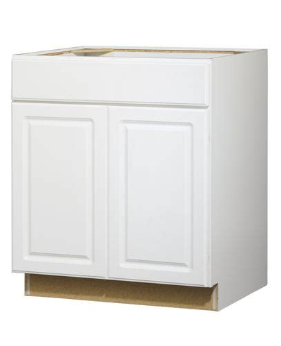 Value Choice 30 Quot Ontario White Standard 2 Door 1 Drawer Kitchen Cabinet Doors Ontario