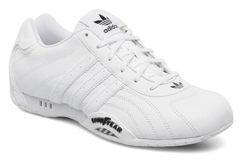 Adidas City Racer Black List White adidas originals adi racer low trainers in white at