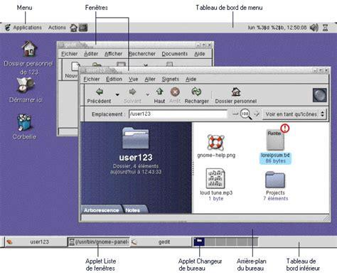emploi bureau d 騁ude environnement introduction aux composants de l environnement de bureau