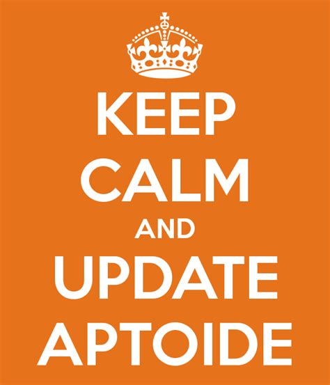 aptoide update keep calm and update aptoide aptoide