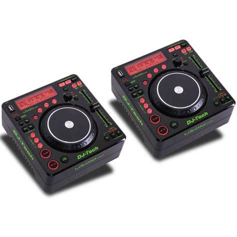 console dj tech dj tech coppia usolo mkii media player per dj