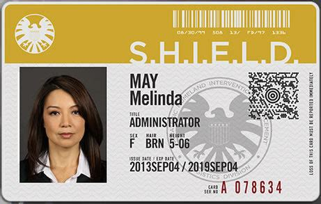 of shield id card template agents of s h i e l d d 233 couvrez la bande annonce de la