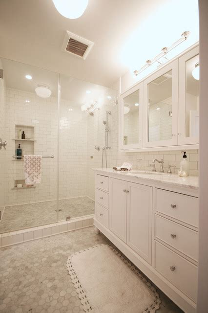 shabby chic master bathroom doty master suite