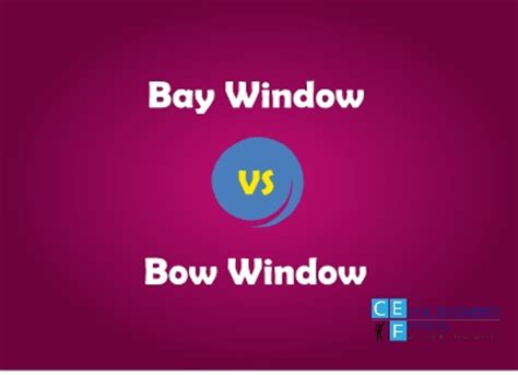 difference between bay and bow windows 6 differences between bow window and bay window