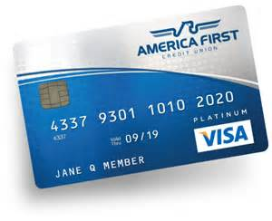 visa platinum credit card america credit union