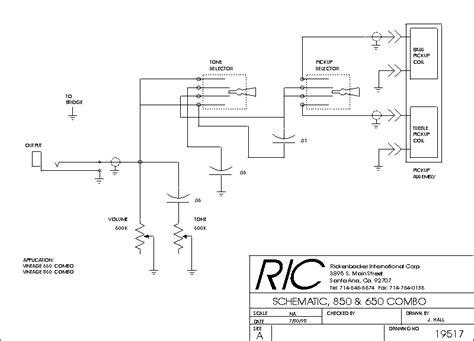 rickenbacker 4001 wiring diagram 28 images