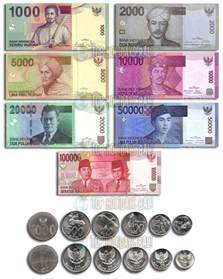 indonesian bank notes gusti bali tours