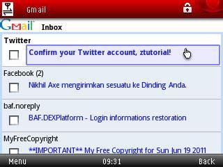 cara membuat email yahoo lewat hp operamini cara buat email twitter lewat hp bagus