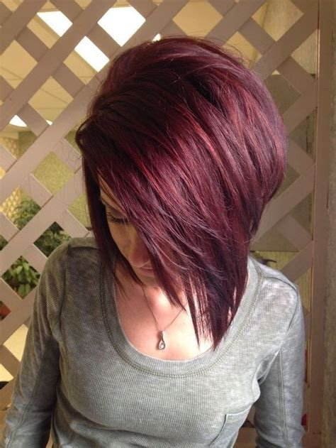 photos of very short grey hairstyles with mahogany highlights 10 mahogany hair color ideas ombre balayage hairstyles 2018