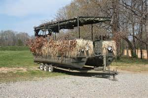A Frame Duck Blind Learn Pontoon Boat Duck Blind Plans Wilson