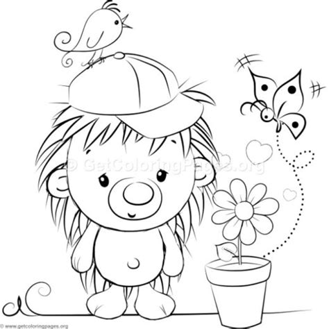 cute hedgehog coloring pages tribal mandala coloring pages 218 getcoloringpages org