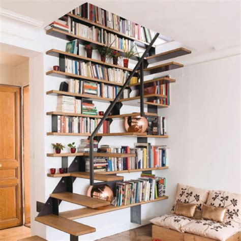 bookshelf stairs house idea s