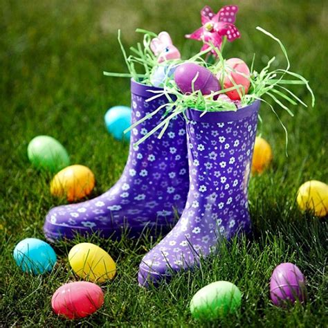 easter backyard decorations outdoor easter decorations 27 ideas for garden and entry