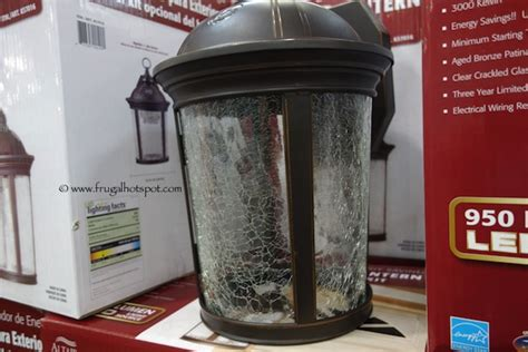 altair lighting outdoor led lantern costco sale altair lighting outdoor led lantern 29 99