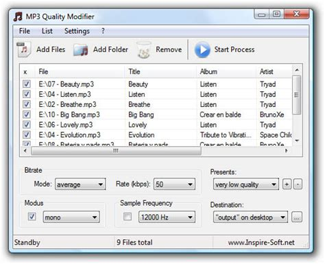 download mp3 quality modifier mp3 quality modifier download for windows free software