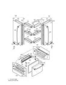 refrigerator parts lg refrigerator parts replacement door