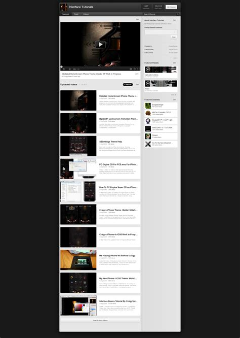 youtube layout template psd youtube template psd for new yt layout by noobgamer75 on