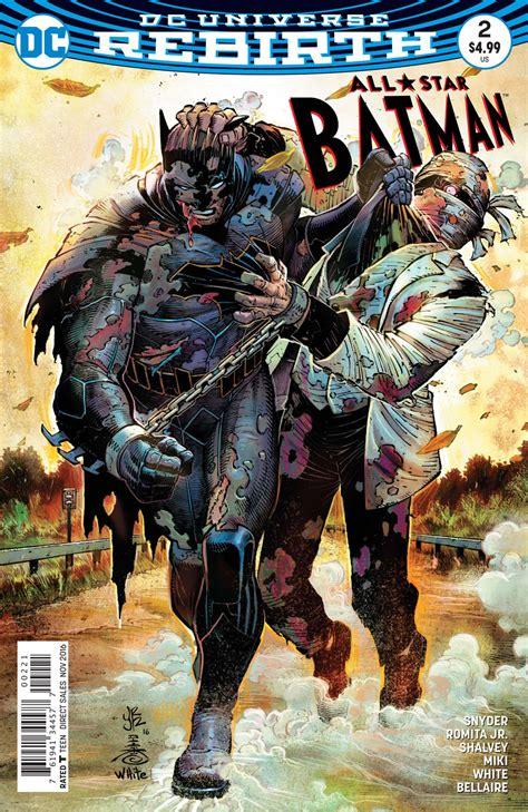 Sweep Under Rug All Star Batman 2 Is Bruce Wayne S Worst Nightmare
