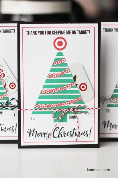 Target Gift Card Printable - teacher gift for christmas target gift card holder landeelu com