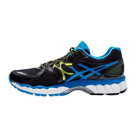 asics gel nimbus  mens running shoes dark charcoal
