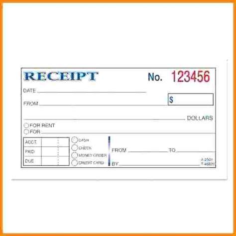 Receipt Book Template Psd by 7 How To Make A Receipt Book Restaurant Receipt