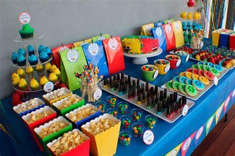 decoração de mesa sala jantar decora 195 167 195 163 o de mesa para festa infantil