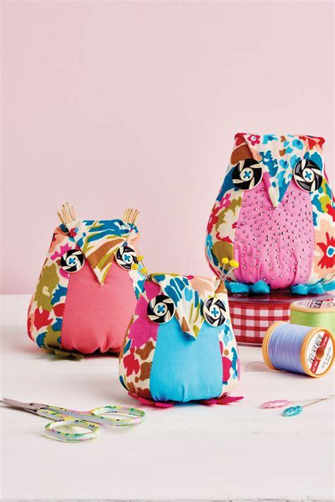 owl pincushion template aly owl pincushion free sewing patterns sew magazine