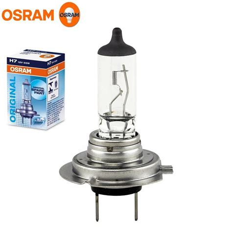 Osram Halogen H1 55w Original Spare Part Bohlam Lu Standar 2 x osram h7 12v 55w headlights halogen 499 car bulb 64210 original spare parts ebay