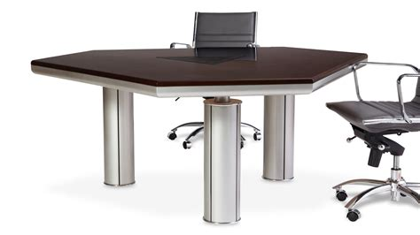 Metal Conference Table Modern Conference Table With Woot Top And Metal Legs Zuri Furniture