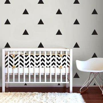 Hk Accesories Hk 011 Stiker Dinding Wall Sticker Murah 1 1 set 10 triangles wall decals wall stickers home room