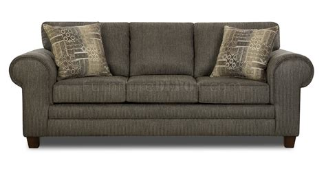 loveseat and ottoman set graphite fabric sofa loveseat set w optional ottoman chair