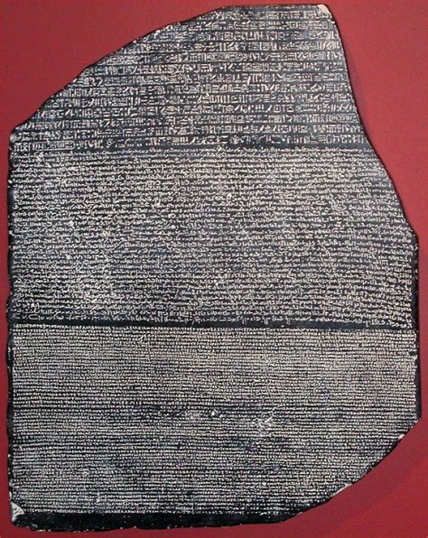 rosetta stone history definition no 1848 museum of printing history
