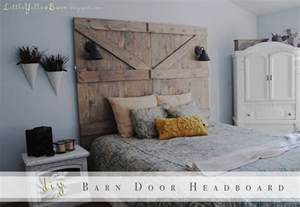 Barn Door Headboard Diy Barn Door Headboard