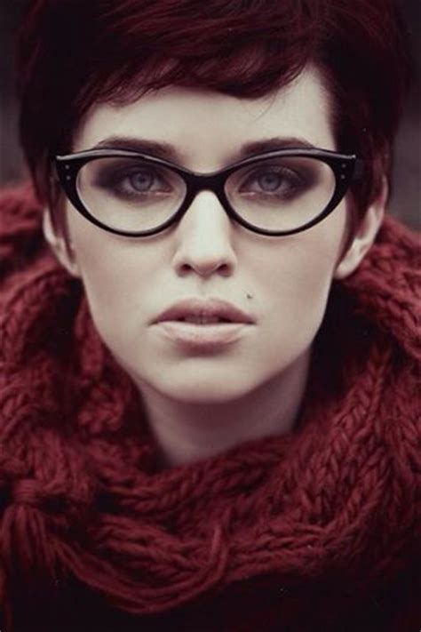 hairstyles for cat eye glasses how about a pixie with glasses short and sassy haircuts