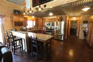 inside of a metal barndominium when building the house