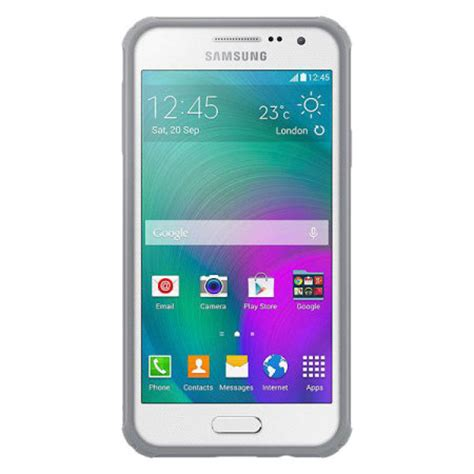 Samsung A3 Plus official samsung galaxy a3 2015 cover plus light grey