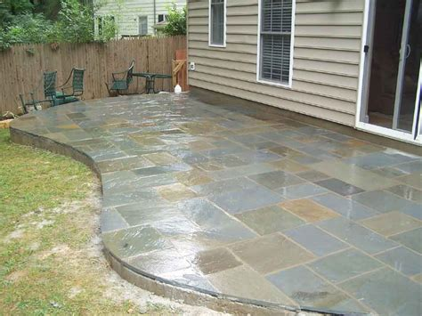 stone for backyard flagstone patios professional stone work silver spring