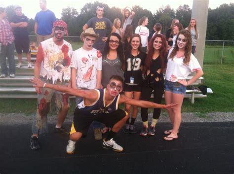 themes for student sections zombie theme spirit game spirit theme high school high