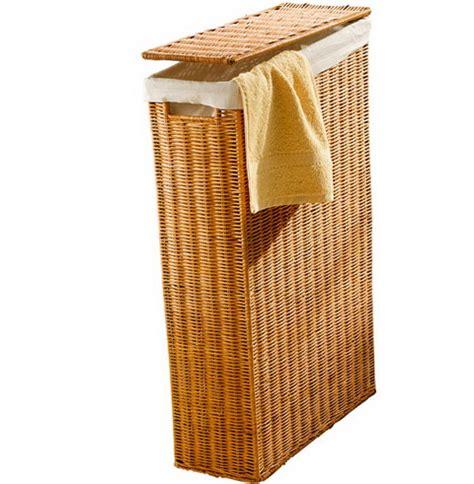 small bathroom baskets 4 narrow basket storage pinterest laundry small