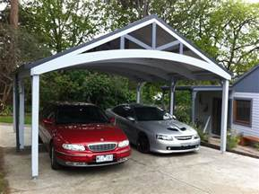 Timber Car Port by Carports Timber Carports