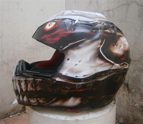 design helm kreatif custom helmet ronita digital printing