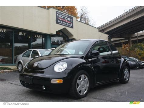 black volkswagen beetle 2001 black volkswagen beetle gls coupe 117016267