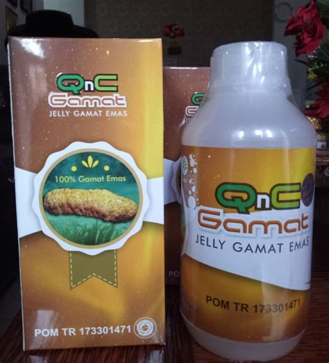Obat Herbal Jelly Gamat Qnc obat penyakit virus mers herbal jelly gamat qnc