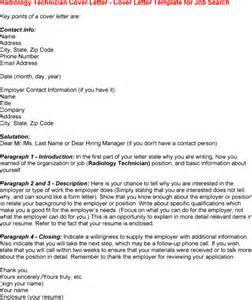 radiography cover letter healthcare resume sle radiologic technologist